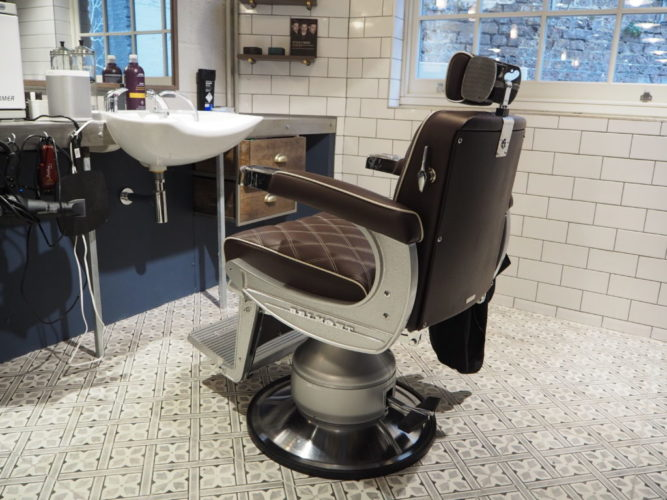 Southwark Barbers - Barbers Chair