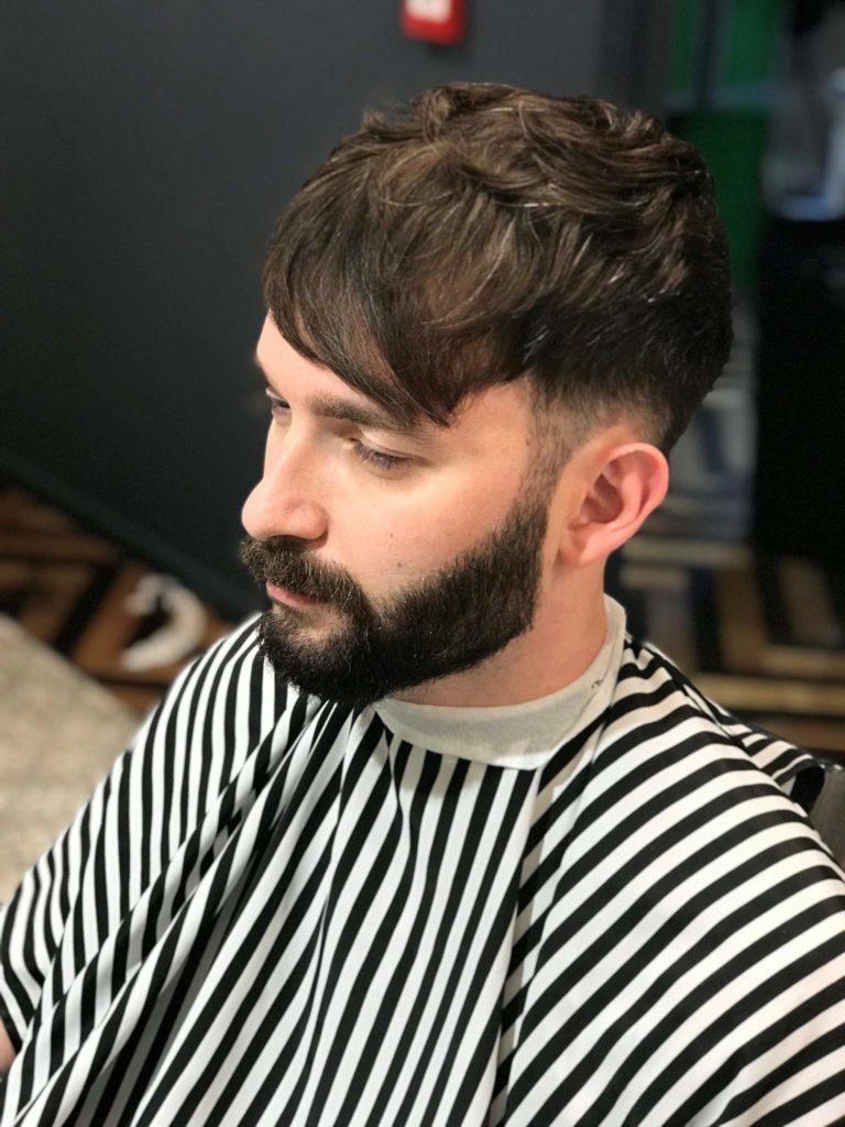 Southwark Barbers Shampoo and Cut Dark Hair