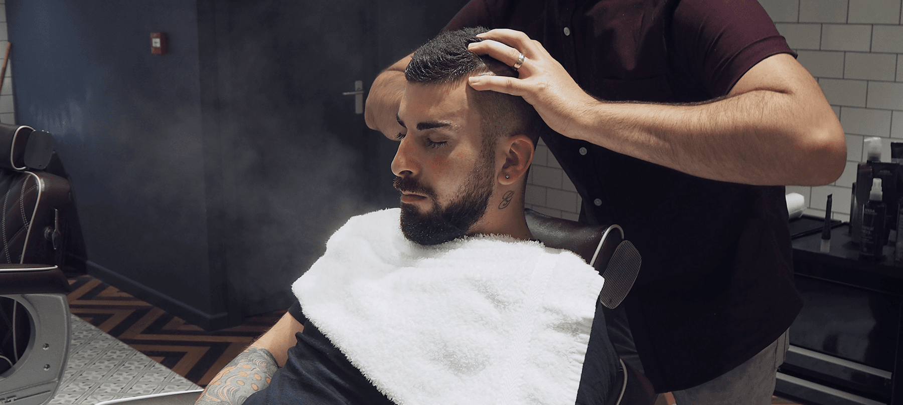 Male Grooming - Scalp Cleanse