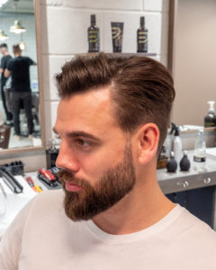 Cutters Yard Classic Cut with Side Parting